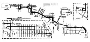 Map of RTD 470/471, December 1994