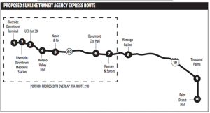 Proposed Sunline extension of RTA #210