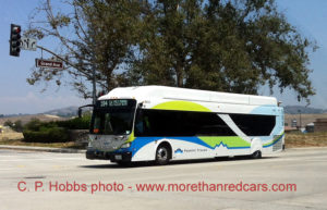 Foothill Transit bus on Line 194.